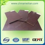 Folha magnética dos materiais de isolação da estratificação da boa qualidade