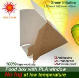 2013 schnelles Food Box Packaging mit Antifogging Window (K52)