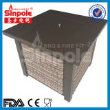 Tabella del pozzo del fuoco di gas dell'acciaio inossidabile (KLD4001SS)