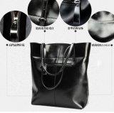 Trendy Snake Print Lady Leather Business Handbag for Fashion Women