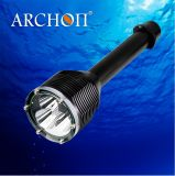 Archon 3000lumens LED Flashlight Diving Equipment Waterproof 100m W39