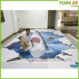 Etiqueta engomada del gráfico del suelo de la calidad 3D de Shangai Tongjie