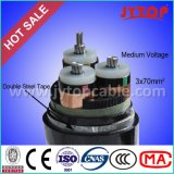 Kern-Kabel-Fabrik der Qualitäts-20kv des Kabel-XLPE des Kabel-3