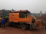 30-90 ConstructionのためのM3/H Trailer Electric Concrete Pump