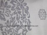 Pano de tabela largo da largura do projeto da flor/flor do jacquard da qualidade do poliéster