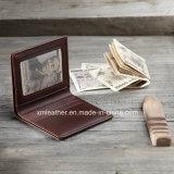 Бумажник Handmade способа типа сбор винограда Bifold для людей