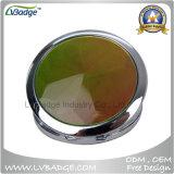 Round Shape Diamond Double Side Compact Mirror