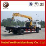 Caminhão de Wrecker do reboque de Dongfeng com guindaste 8 toneladas