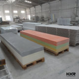 Modified blanc Solid Surface pour Counter