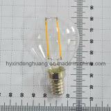 LEDのフィラメントランプG45 2W E14/E27/B22