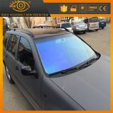 Alta película colorida de Calor-Rechazo de la ventana del camaleón decorativo para el coche