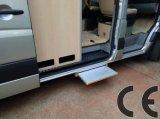 Carga deslizante elétrica 250kg da etapa Es-S-600 com CE para Van e minibus