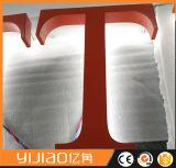 L'acier inoxydable de base acrylique 3D décorent des lettres