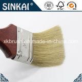 Escova de pintura branca da cerda da qualidade excelente com elevado desempenho