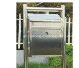 De interior u Outdoor Stainless Steel Mailbox (HS-MB-013)