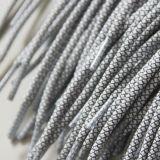 Merletti di pattino sottili rotondi del nero del merletto dei merletti della corda