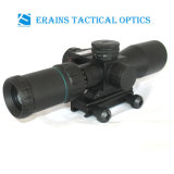 2.5-10X32 compatto Rifle Scope Red Green Mil-DOT Reticle con il laser Sight Combo (FDA di Side Attached Red certificati)