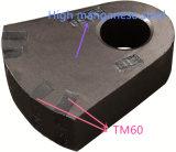 De hoge Hamers van het Carbide van het Wolfram van het Mangaan Staal Ingelegde