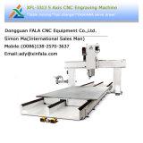 Маршрутизатор Китай CNC гравировального станка 5-Оси Xfl-3313