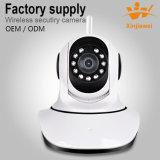 CCTV 650tvl CMOSのプラスチック監視のドームCCTVの無線電信のカメラ