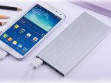Full Capacity를 가진 알루미늄 Metal Case Book Ultrathin Rechargeable Battery 8000mAh