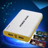 Tesoro de carga 6 de alimentación de la fuente de la jerarquización móvil de la sección 20000 linterna del mA PCBA para la batería móvil de la potencia de la potencia móvil