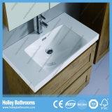 Мебель ванной комнаты типа самомоднейшей лидирующей конструкции блока шкафа ванны дуба новая (BF118M)