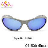 Óculos de sol polarizados dos esportes com FDA (91046)