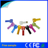 Mecanismo impulsor del flash del USB de la dimensión de una variable del clave del metal de las muestras libres