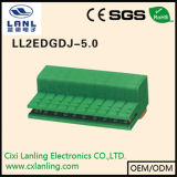 Conetor Pluggable dos blocos Ll2edgdj-3.5 terminais