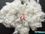 7D * 64mm Polyester Staple Fiber avec Silicon