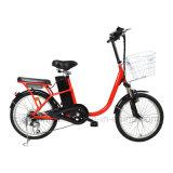 Велосипед города 20 дюймов электрический с безщеточным мотором эпицентра деятельности 250W