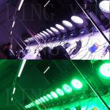 Stadium Lichte 36X18W die RGBWA UV6in1 DMX Hoofdleiden bewegen