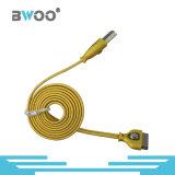 Micro cavo personalizzato della trasmissione di dati del USB del lampo piano