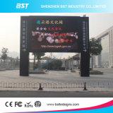 Bst 최신 인기 상품 P6mm SMD는 상업 광고를 위한 옥외 LED 영상 벽을 방수 처리한다