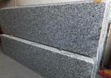 Mattonelle stabili della bramma della pietra del granito del filone del granito dello spruzzo delle mattonelle bianche della pietra