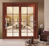 Раздвижная дверь нового типа алюминиевые/дверь металла