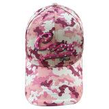 Casquettes de baseball roses construites de chasse de camouflage