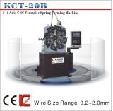 Kct-20b 0.2mm CNC Duck Clip Spring Forming Machine&Torsion/Tension Versatil 3 Axis CNC Spring Forming Machine