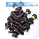 Jungfrau Remy Güte-Haar des indischen Haar-3A rohes unverarbeitetes