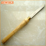 "Oval Skew Wood Carving Chisel Wood Turning Tool Set Usado para Máquina (3/4 ""* 160)"
