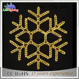 Warmes weißes Straßenlaterneder Schneeflocke-Weihnachtsdekoration-LED