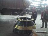 채광 기계장치 콘 쇄석기 착용 맨틀을과 오목한 분해한다