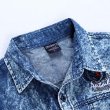 Sommer Short Sleeve Denim Shirt für Young Men