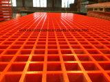 Решетка/стеклоткань/Анти--Пожар/Анти--UV/Anti-Corrosion отлитые в форму FRP