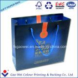 Bolso de compras de papel impreso para el té