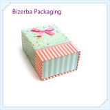 Boîte de bijoux pliable se pliante de la boîte Box//Folded de cadeau professionnel de carton