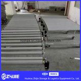 Alta calidad flexible extensible gravedad rodillo transportador