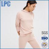 カスタム安い魅了の100%年の綿の女性の適性の衣服