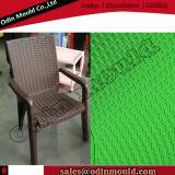 Modelagem por injeção plástica da cadeira do projeto do Rattan